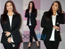 Best Looks Of Gorgeous Aishwarya Rai Black Suit Photos