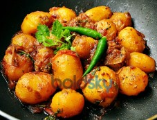 Crisp Baby Potatoes Fry Recipe Photos