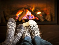 Decor Ideas For Winter Fireplace Photos