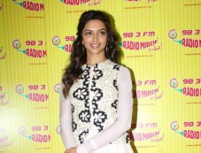 Deepika Padukone Promotion of film Ram Leela at Radio City Photos
