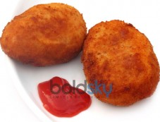 Egg Bonda Snack Recipe Photos
