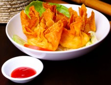 Fried Chicken Wontons Recipe For Snack Photos