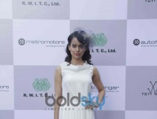 Kangana Ranaut at Metro Motors Auto Hangar Event Photos