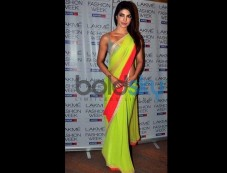 Priyanka Chopra In Designers Saree Photos