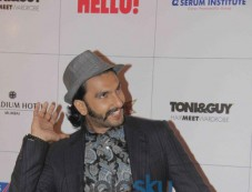 Ranvir Singh at Hello Awards 2013 Photos