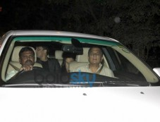 Sunil Gavaskar at Sachin Tendulkar  farewell party 2013 Photos