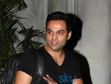 Abhay Deol snapped at Olive Photos