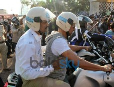 Akshay Kumar drive for Ride For Safety rally Photos