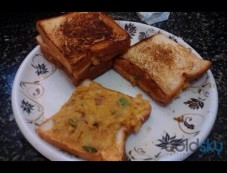 Aloo Bread Toast Breakfast Recipe Photos