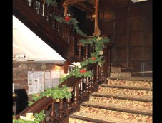 Christmas Decor Ideas For Staircases Photos