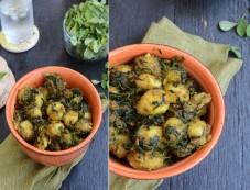 Delicious Methi Aloo Recipe Photos