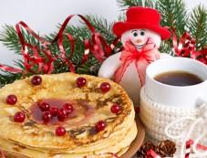 Ginger Pancake Recipe For Christmas Eve Breakfast Photos