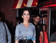 Kangana Ranaut during launches Vibha Singh's book A Convenient Culprit Photos