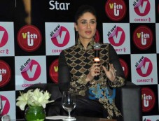 Kareena Kapoor during v vith you app launch press conference Photos