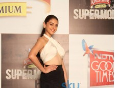 Aditi Rao Hydari at Kingfisher Supermodels Grande Finale on NDTV Good Times Photos