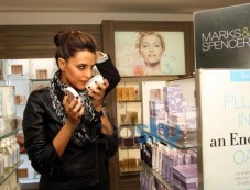 Neha Dhupia at Marks and Spencer Store Launch Photos