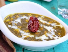 Palak Corn Curry Recipe Photos