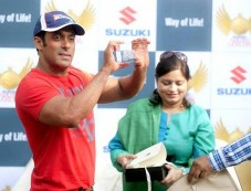 Salman Khan at the launch of Suzuki Biking Lords Photos