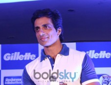 Sonu Sood at the Gillette SIM Photos