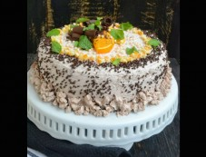 X Mas Spcl Orange Cake With Chocolate Photos