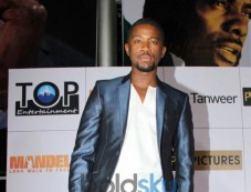 Atandwa Kani during Mandela Long Walk to Freedom Premiere Photos