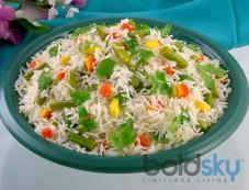 Butter and Capsicum Rice Recipe Photos