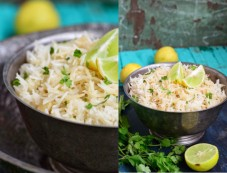 Cilantro and Lemon Rice Photos