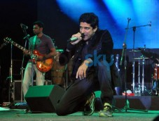 Farhan Akhtar live performance at ALEGRIA Photos