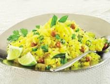 Lemon Poha Breakfast Recipe Photos