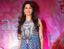 Juhi Chawla stuns during Gulaab Gang Press Conference Photos
