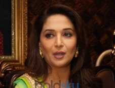 Madhuri Dixit at Shri Raj Mahal Jewellers Photos