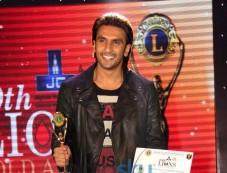 Ranveer Singh at Lion Gold Awards Photos