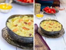 Sakkarai Pongal Special Recipe Photos