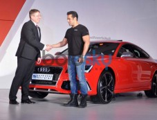 Salman Khan own and launches Audi RS 7 Sportback luxury car Photos