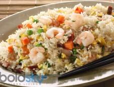 Shrimps Fried Rice Recipe Photos