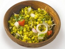 Sprouted Moong Dal Salad For Breakfast Photos