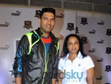 Yuvraj Singh at PUMA launch a one of a kind Relay Running Property for Students Photos