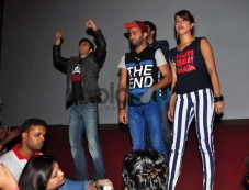 Gunday star cast at Gaiety Galaxy theatre Photos