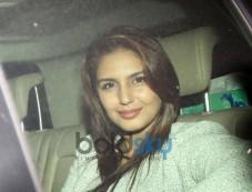 Huma Qureshi at Gunday Special Screening Photos