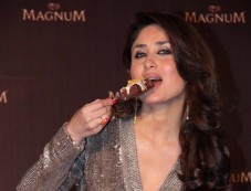 Kareena Kapoor Khan stuns at Magnum Pleasure unveil Photos