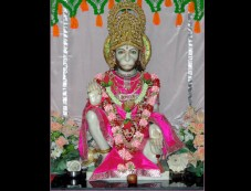 Lord Hanuman Worship Photos