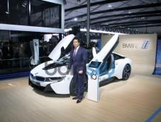 Sachin Tendulkar unveiled BMW Car at Auto Expo 2014 Photos