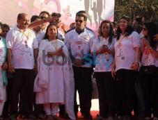 Salman Khan at First edition of Little Hearts Marathon Photos