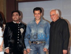 Salman Khan launches A.R. Rahman album Raunaq Photos
