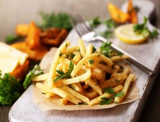 Shivratri Vrat Recipe Potato Fries Photos