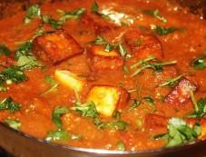 Spicy Paneer Masala Dinner Recipe Photos