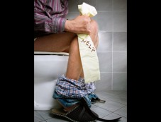 Straining On The Toilet Photos