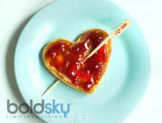 Valentine's Day Sweetheart Pancakes Photos