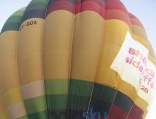 Vidya Balan and Farhan Akhtar SKSE Promotion in air balloon Photos