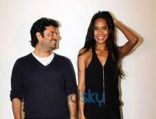 Vikas Behal and Lisa Haydon at Mehboob Studio Photos